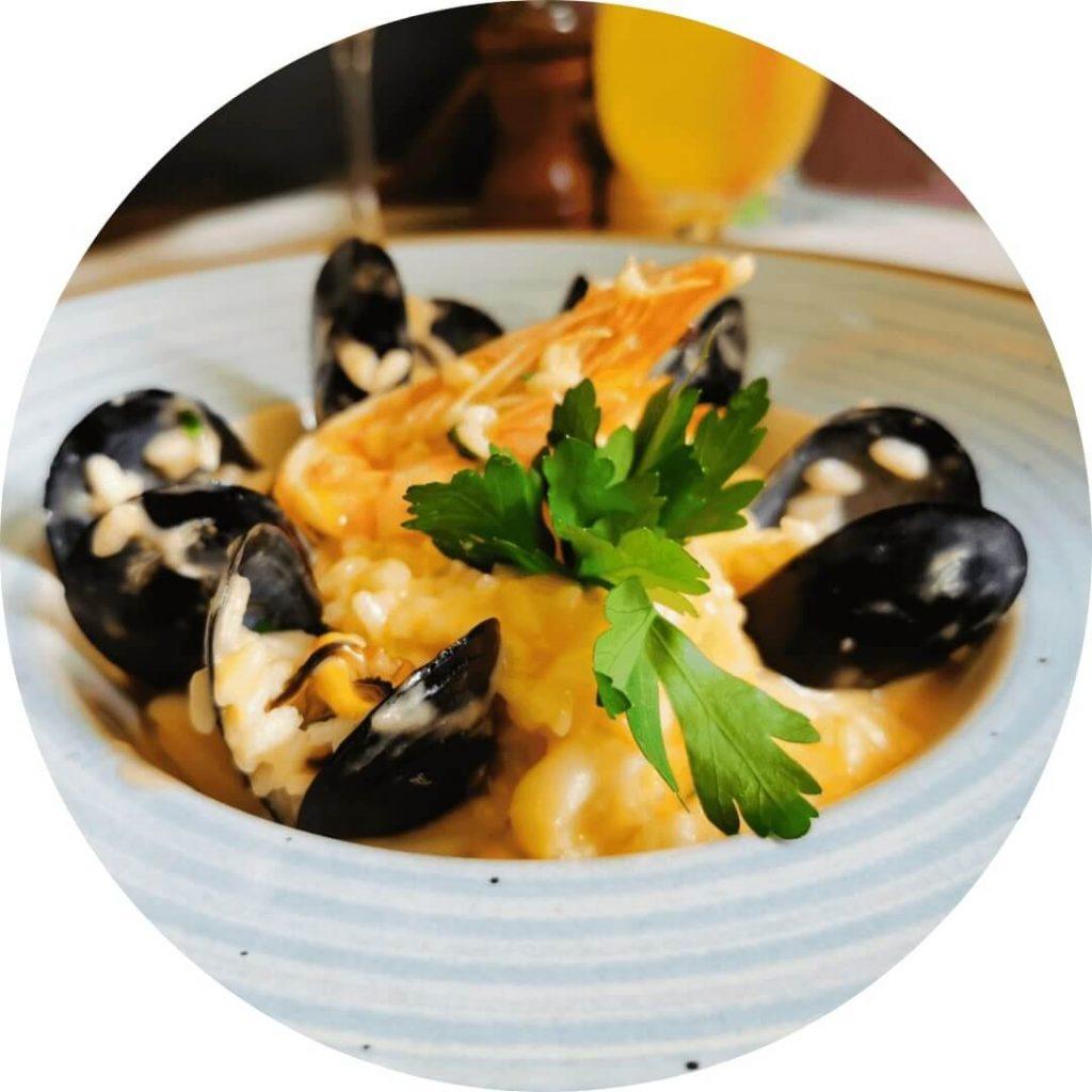 Osteria Zucca - risotto